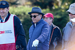"""Feb 6, 2019 Pebble Beach, Ca. USA TV, Film and singing stars that included ANDY GARCIA whom played in the """"3M Celebrity Challenge"""" to try for part of the 100K purse to go to their favorite charity and win the Estwood-Murray cup, for which team Clint Eastwwod's group won.. The event took place during practice day of the PGA AT&T National Pro-Am golf on the Pebble Beach Golf Links. Photo by Dane Andrew c. 2019 contact: 408 744-9017  TenPressMedia@gmail.com"""