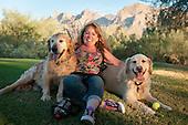 Finnegan & Rio: Dog Pictures, Oro Valley, AZ