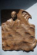 Tablica pamiatkowa ku czci porucznika Zbigniewa Przybyszewskiego<br /> Commemorative plaque of Zbigniew Przybyszewski