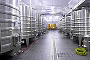 tanks with cooling coils chateau belgrave haut medoc bordeaux france