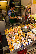 A Chinese soup shop in the old city of Macau.