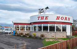 Pictured: <br />The Horn Restaurant on the A90 between Perth and Dundee has been serving refreshments to weary travellers since the 1960s.  The owner, Kenny Farquaharson, has submitted planning applications for a replacement restaurant and hope that work can start early next year.  Kenny plans to take some of the 60s ambiance and memorabelia to the new venture.<br /><br />Ger Harley | EEm 19 October 2019