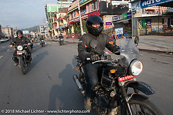 Denver Joe Hicks on day-9 of our Himalayan Heroes adventure riding from Pokhara to Nuwakot, Nepal. Wednesday, November 14, 2018. Photography ©2018 Michael Lichter.