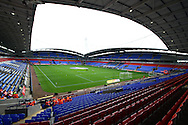 a General view inside the Macron stadium. Skybet football league championship match, Bolton Wanderers v Derby County at the Macron stadium in Bolton, Lancs on Saturday 8th August 2015.<br /> pic by Chris Stading, Andrew Orchard sports photography.