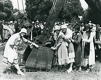 1925 Groundbreaking for the Hollywood Studio Club's new clubhouse on Lodi Pl.