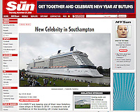 Celebrity Solstice. The Sun. UK..27-11-2008