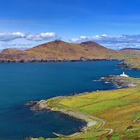 Valentia Island with Lighthouse, Ring of Kerry, Southwest Kerry, Ireland / vl042_2