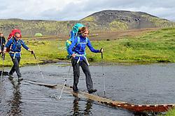 09-07-2014 ISL: Iceland Diabetes Challenge Dag 5, Emstrur<br /> Van Alftavatn naar Emstrur / Sasja Huisman