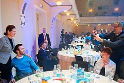 Alenka Bratusek and Gal Jakic photographed by Roman Jakic during presentation of Team Slovenia for Sochi 2014 Winter Olympic Games on January 22, 2014 in Grand Hotel Union, Ljubljana, Slovenia. Photo by Vid Ponikvar / Sportida