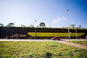 Itatiaiucu_MG, Brasil...Rodovia in Itatiaiucu...The motorway in Itatiaucu...Foto: LEO DRUMOND / NITRO