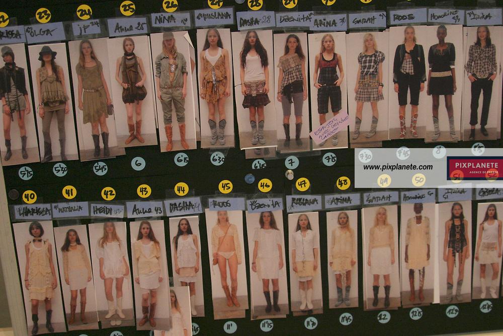 Prêt à porter Printemps / été 2005. Isabel Marant. Backstage / PixPlanete