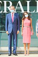 091620 Spanish Royals attends the Commemoration of the 125th anniversary of Heraldo de Aragon