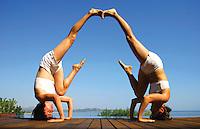 El Arte de Yoga en Pareja - LIBRO / BOOK. 306 Diferent Partner Yoga Asanas for all levels. Designed by Wari Om
