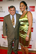 Kimora Lee Simmons and Ken Hicks of JC Penny at the Kimora Lee Simmons celebration of the launch of her new fashion collections Fabulosity at JC Penny with party at Hiro on July 16, 2008..Fabulosity is a complete sportswear collection catering to authentic teen girls who want to show the world how fabulous they really are. The line hits JCPenney stores this week featuring tees, knit tops and sweaters, jeans, skirts, dresses, hoodies, jackets and outerwear. The collection embodies a lifestyle of confidence, beauty and fashion sense - at an even more fabulous price point ($29 to $108)..