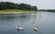 China, Yangshuo County, Kayaking on Li River