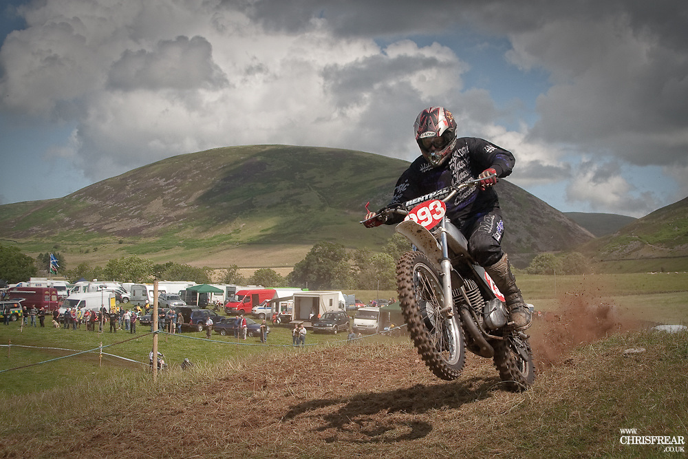 Thronhill Motorcycle Scramble<br /> (c) 2009 Chris Frear Butterfield