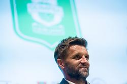 Igor Biscan, new head coach of NK Olimpija at press conference, on June 2, 2017 in Austria Trend Hotel, Ljubljana, Slovenia. Photo by Sasa Pahic Szabo / Sportida