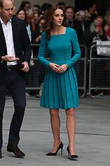 The Duke and Duchess of Cambridge visit the BBC - 15 Nov 2018
