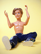 doll representing a young adult muscular boy