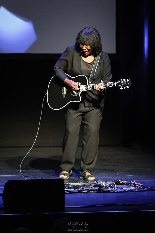 Joan Armatrading performing at SOPAC in South Orange, NJ.