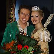 Premiere musical Doornroosje, Jamai Loman en Doornroosje Annemieke van Dam