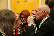 Lord  and Lady Foster, Party for Jean Pigozzi hosted by Ivor Braka to thank him for the loan exhibition 'Popular Painting' from Kinshasa'  at Tate Modern. Cadogan sq. London. 29 May 2007.  -DO NOT ARCHIVE-© Copyright Photograph by Dafydd Jones. 248 Clapham Rd. London SW9 0PZ. Tel 0207 820 0771. www.dafjones.com.