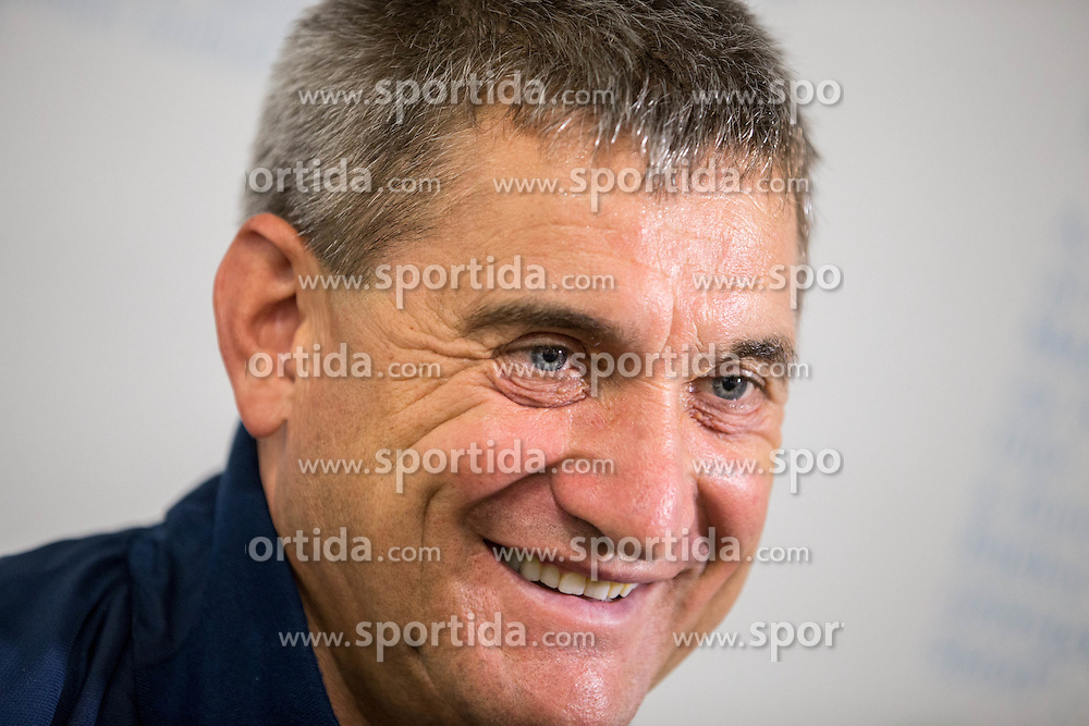 Marijan Pusnik, head coach of HNK Hajduk during press conference after the football match between HNK Rijeka and HNK Hajduk Split in Round #15 of 1st HNL League 2016/17, on November 5, 2016 in Rujevica stadium, Rijeka, Croatia. Photo by Vid Ponikvar / Sportida