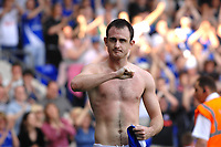 Photo: Ashley Pickering.<br /> Ipswich Town v Derby County. Coca Cola Championship. 14/04/2007.<br /> Francis Jeffers celebrates the equaliser for Ipswich