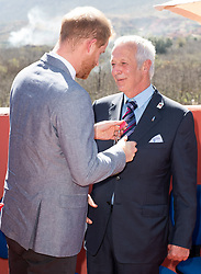 Prince Harry, Duke of Sussex, and Meghan Markle, Duchess of Sussex, visit the original Education For All boarding house in Asni Town, Atlas Mountains, Morocco, on the 24th February 2019. 24 Feb 2019 Pictured: Prince Harry, Duke of Sussex. Photo credit: MEGA TheMegaAgency.com +1 888 505 6342