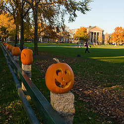Late afternoon on the Dartmouth College Green in Hanover, New Hampshire.