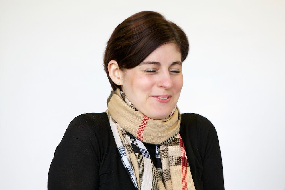 Portrait of Cathy.