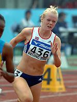 Friidrett<br /> Junior-VM 2006<br /> Beijing Kina<br /> 17.08.2006<br /> Foto: Hasse Sjøgren, Digitalsport<br /> <br /> Malene Hjort