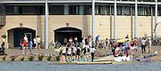 Eton,  GREAT BRITAIN. General Views,  Boating stages, at the Eton Course,  Eton Schools' Regatta, Eton Rowing Centre, Dorney Lake. [Finish of cancelled National Schools Regatta], Saturday, 07/06/2008  [Mandatory Credit:  Peter SPURRIER / Intersport Images] Rowing Courses, Dorney Lake, Eton. ENGLAND Eton College, Boat house,