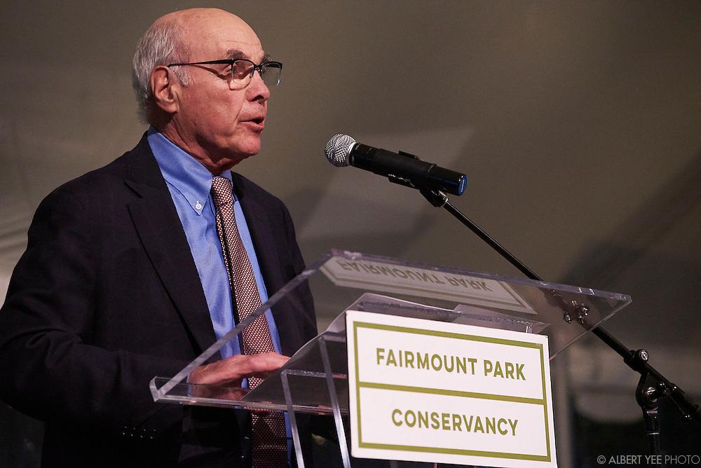 John Binswanger, FPC Board Chairman<br /> at the Fairmount Park Horticulture Center<br /> April 29, 2016