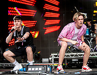 Max and Harvey at Camp Bestival 2021, Lulworth Castle photo by Brian Jordan