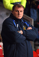 Photo: Paul Greenwood.<br />Wigan Athletic v Chelsea. The Barclays Premiership. 23/12/2006. Wigan Athletic manager Paul Jewell
