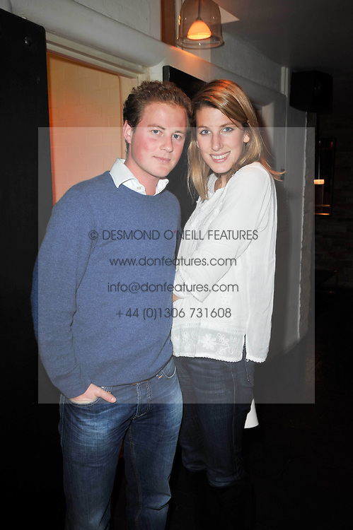 GUY PELLY and SUSANNA WARREN at a screening of the short film 'The Volunteer' held at the Courthouse Hilton Hotel, 19-21 Great Marlborough Street, London W1 on 26th October 2009.