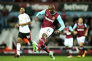 Angelo Ogbonna Obinze of West Ham United in action. The Emirates FA cup, 6th round replay match, West Ham Utd v Manchester Utd at the Boleyn Ground, Upton Park  in London on Wednesday 13th April 2016.<br /> pic by John Patrick Fletcher, Andrew Orchard sports photography.