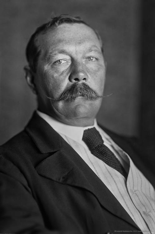 Sir Arthur Conan Doyle, Scottish Author, 1912