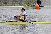Eton, United Kingdom.    GBR  M1X, Graeme THOMAS after the A Final men's single Sculls at the 2012 GB Rowing Trials, Dorney Lake. Near Windsor Berks Sunday  11/03/2012  [Mandatory Credit; Peter Spurrier/Intersport-images]