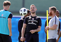 England Training and Press Conference - 23 June 2018