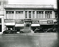 1928 Stores on Hollywood Blvd. near Wilcox Ave.