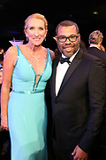 Jane Austin, SAG-AFTRA Secretary-Treasurer, and Jordan Peele
