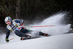 19.12.2016, Grand Risa, La Villa, ITA, FIS Ski Weltcup, Alta Badia, Riesenslalom, Herren, 1. Lauf, im Bild Florian Eisath (ITA) // Florian Eisath of Italy in action during 1st run of men's Giant Slalom of FIS ski alpine world cup at the Grand Risa race Course in La Villa, Italy on 2016/12/19. EXPA Pictures © 2016, PhotoCredit: EXPA/ Johann Groder
