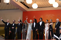 May 14, 2019 - Cannes, France - CANNES, FRANCE - MAY 14: (L-R) Bill Murray, guest, Director Jim Jarmusch, Sara Driver, Tilda Swinton, Luka Sabbat, Adam Driver, Selena Gomez and Chloe Sevigny attend the opening ceremony and screening of ''The Dead Don't Die'' during the 72nd annual Cannes Film Festival on May 14, 2019 in Cannes, France. (Credit Image: © Frederick InjimbertZUMA Wire)