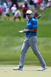 June 22, 2018 - Cromwell, Connecticut, United States - Stewart Cink walks around the 8th green during the second round of the Travelers Championship at TPC River Highlands. (Credit Image: © Debby Wong via ZUMA Wire)