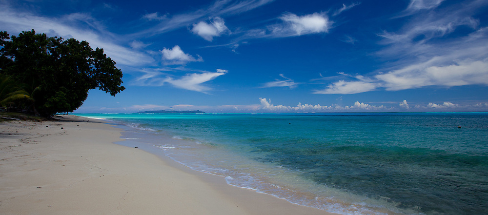 Paradise Beach Shoreline, White Sand, Fiji