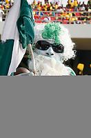 Photo: Steve Bond/Richard Lane Photography.<br /> Ghana v Nigeria. Africa Cup of Nations. 03/02/2008. Nigeria fan prayer leading