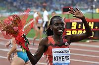 Hyvin KIENG Kenia Winne 3000m steeplechase Women <br /> Roma 31-05-2018 Stadio Olimpico  <br /> Iaaf Diamond League Golden Gala <br /> Athletic Meeting <br /> Foto Andrea Staccioli/Insidefoto