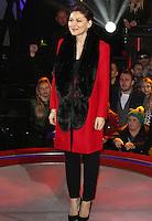 Emma Willis, Celebrity Big Brother - Live Eviction, Elstree Studios, Elstree UK, 08 January 2016, Photo by Brett D. Cove